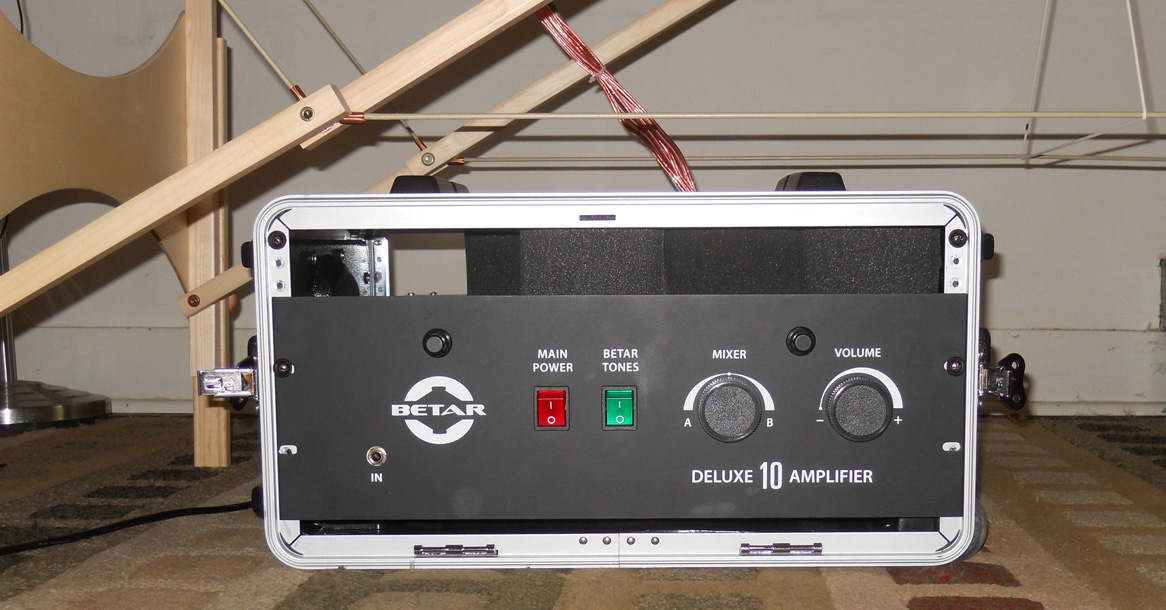 Deluxe 10 Amp - front